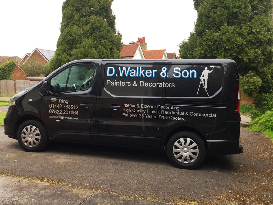Dave Walkers Van